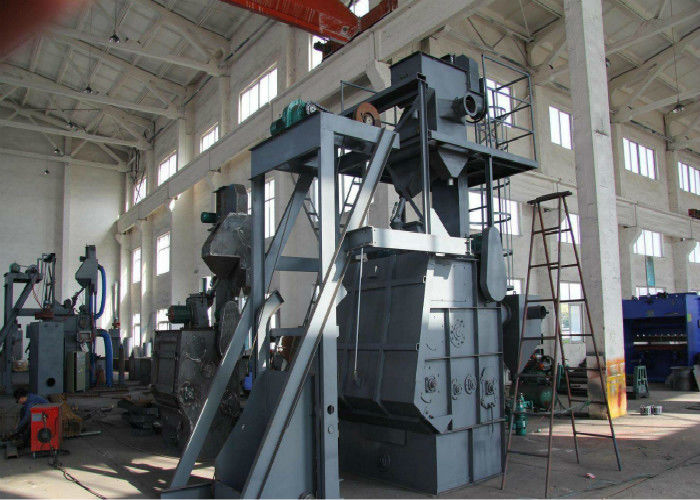 Tumble Belt Dustless Blasting Machine, Rust Removal Shot Peening Machine
