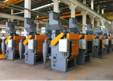 Q32 Series Bead Blasting Equipment, Sabuk Karet Tumble Shot Blasting Machine